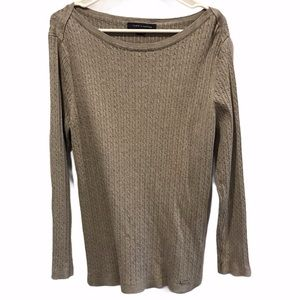 Tommy Hilfiger women's cable knit sweater size xxl